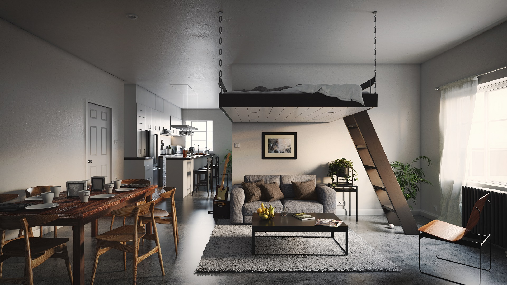 Picture of: Loft And Suspended Beds Casterdesign England