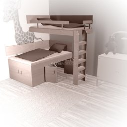 Bunk beds Bunk bed, L