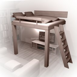 Bunk beds Bunk bed double, sideways