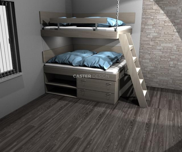 2 x Double bed
